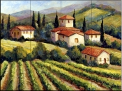 Vineyard Villas    - Tile Mural