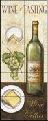 Wine and Cheese II    - Tile Mural