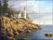 Safe Harbor II   - Tile Mural