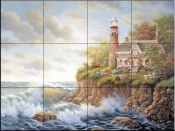 Haven of Peace   - Tile Mural