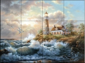 Welcoming Light   - Tile Mural