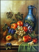 Antique Still Life III    - Tile Mural