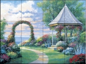 Arbor Light    - Tile Mural