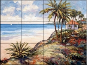 Seaside Vista    - Tile Mural
