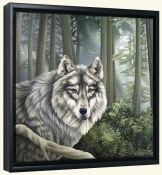 Wolf   -Canvas Art Print