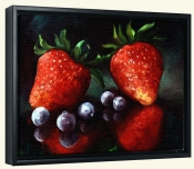 Strawberries  2  -Canvas Art Print