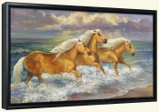 FantaSea Ponies   -Canvas Art Print