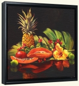 Pineapple and Papaya   -Canvas Art Print