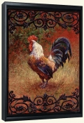 Iron Gate Rooster I   -Canvas Art Print