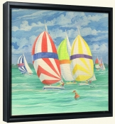 Spinnaker 1   -Canvas Art Print