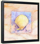 Summer Scallop   -Canvas Art Print
