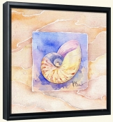 Summer Nautilus   -Canvas Art Print