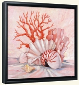 Coral Still Life 1   -Canvas Art Print