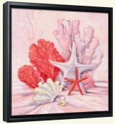 Coral Still Life 2   -Canvas Art Print
