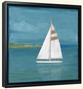 Square Sailboat   -Canvas Art Print