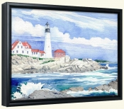 Portland Head Lighthouse   -Canvas Art Print