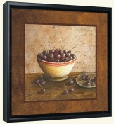 LS-Bowl of Cherries  -Canvas Art Print