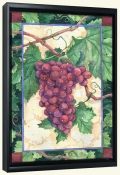 Red Grapes   -Canvas Art Print
