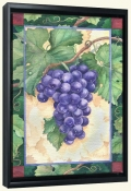 Cabernet Grapes  1 -Canvas Art Print