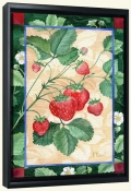 Scarlet Strawberry   -Canvas Art Print