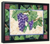 Cabernet Grapes  2 -Canvas Art Print