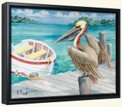 Pelican Dory   -Canvas Art Print
