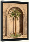 Romanesque Palm 1   -Canvas Art Print