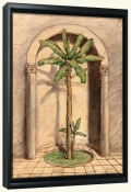 Romanesque Palm 2   -Canvas Art Print