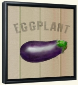 LS-Eggplant  -Canvas Art Print