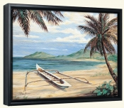 Outrigger Cove   -Canvas Art Print