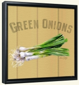 LS-Green Onions  -Canvas Art Print