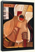 Abstract Guitar   -Canvas Art Print
