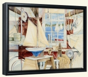 Sailors Shop   -Canvas Art Print