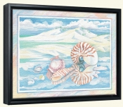 Shoreline Nautilus   -Canvas Art Print