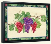 Grapes  3 -Canvas Art Print