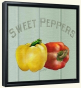 LS-Sweet Peppers  -Canvas Art Print