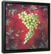 Sicilian Grapes I   -Canvas Art Print