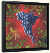 Sicilian Grapes II   -Canvas Art Print