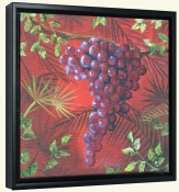 Sicilian Grapes IV   -Canvas Art Print