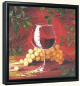 Sicilian Grapes V   -Canvas Art Print