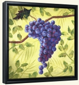 Sunshine Grapes III   -Canvas Art Print