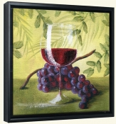 Sunshine Grapes V   -Canvas Art Print