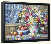 From a Country Garden   -Canvas Art Print