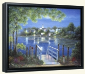 Bay Point Reflections   -Canvas Art Print