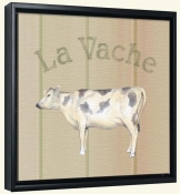 La Vache-Cow  -Canvas Art Print