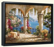 Terrace Arch II   -Canvas Art Print