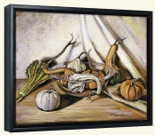 Autumn Bounty   -Canvas Art Print
