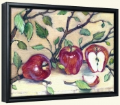 Juicy Apples   -Canvas Art Print