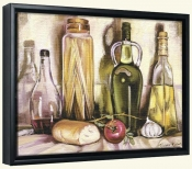 Pasta and Olive Oil   -Canvas Art Print