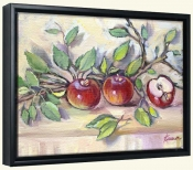 Ripe Apples   -Canvas Art Print